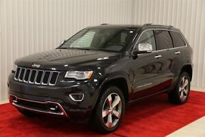 2016 Jeep Grand Cherokee OVERLAND GR. REMORQUAGE, GPS, TOIT PANO