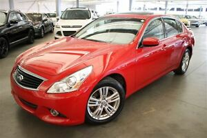 2013 Infiniti G37 LUXURY 4D Sedan AWD