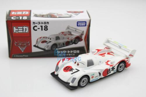 Tomica Takara Tomy Disney Movie Cars Shu Todoroki Racing