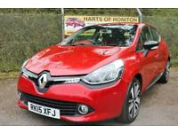 Renault Clio 1.5 dCi 90 Dynamique S MediaNav Energy 5dr (red) 2015