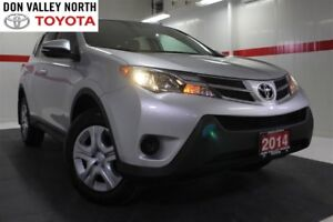 2014 Toyota RAV4 LE UPGRADE PKG AWD Btooth BU Cam Heated Seats