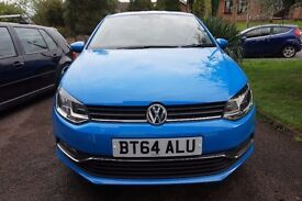 2014 VW Polo SE 1.2 TSI BMT Mayan Blue