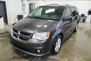 2016 Dodge Grand Caravan CREW PLUS STOW AND GO* DVD*CUIR*CAMERA