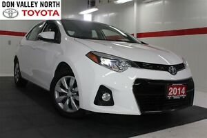 2014 Toyota Corolla S Btooth BU Camera Heated Seats