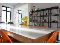 Bright and spacious 570sq/ft space in E1 / Ideal for teams of 10-12 / Bills and WiFi included