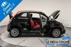 2015 Fiat 500C Lounge, CUIR 1800KM! WOW