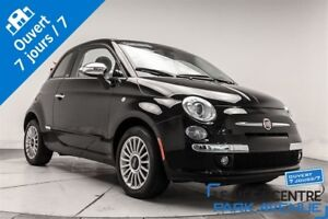 2015 Fiat 500C Lounge, CUIR 1800KM WOW