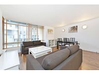 Modern and newly refurbished 1 bedroom apartment in the popular Canary Central development.