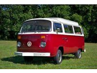 1974 VW campervan, T2, bay Window - Gaston the Wonderbus