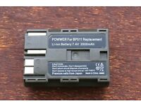 POWWER Li-ion BP511 Battery Pack for Canon 30D