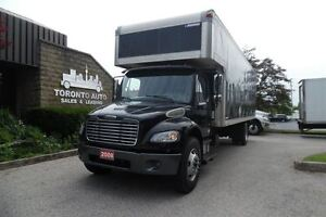 2008 Freightliner Business Class M2 Air ride,26ft,liftgate,Autom
