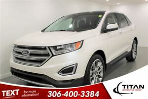 2016 Ford Edge Titanium|AWD|Nav|Bluetooth| Leather|Sunroof