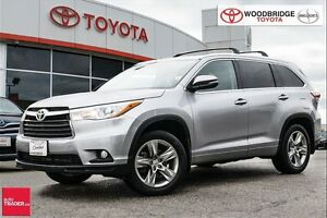 2015 Toyota Highlander LIMITED 7 PASS. AWD. NAVIGATION