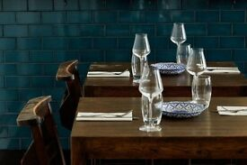 Front of house, floor staff wanted for relaxed fine dining restaurant in South East London