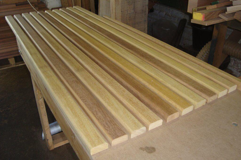 Hardwood Timber Garden Bench Seat Slats Cast Benches
