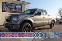2012 Ford F-150 FX4 | 5.0L V8 | 4X4 | Leather | SYNC | 20s