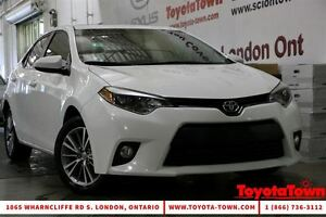 2014 Toyota Corolla TOP OF THE LINE TECH PACKAGE LEATHER NAVIGAT