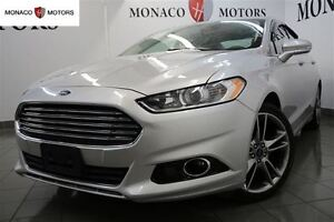 2014 Ford Fusion SDN TINANIUM PKG AWD CAM BT LEATHER