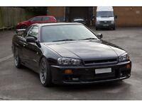 2000 Nissan Skyline R34 GTT 2.5 Turbo r33 r32 modified gtst GTR s14 s15 Silvia 350z Drift Evo Subaru