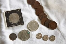 Selection of old Coins