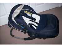 Baby Car Seat SilverCross + free lamp
