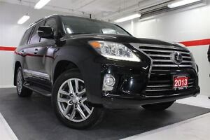 2013 Lexus LX 570 4WD Heated Ventilated Lthr Nav Sunroof Btooth