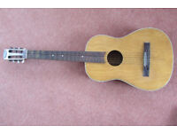 "Vintage 3/4 size ""Michigan"" classical guitar"