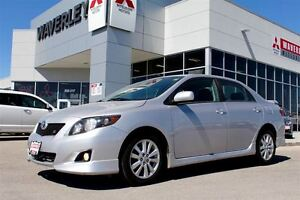 2010 Toyota Corolla S/lowkm/loaded