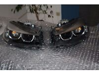 A pair of Left hand drive Europe type bixenon LCI headlight BMW 3er GT F34 LHD LHD MOT TUV APK ITV