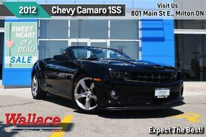 2012 Chevrolet Camaro 1SS/BORLA EXHAUST/RS PACK/REMOTE START