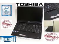 Toshiba Core i3 laptop / 4gb ram / 320gb HDD