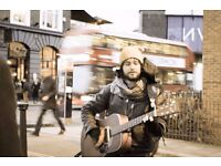 Singer/Guitarist Needed for Musical Walking Tours in Camden