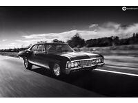 1967 Chevrolet Impala / Caprice - Supernatural American Muscle Car, 5.7 V8, Auto