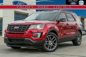 2016 Ford Explorer FORD COMPANY DEMO, DUAL DVD's, 3.5LTR ECO!