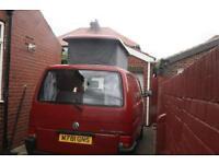 Volkswagen T4 Campervan, 1995 M Plate with Pop-Top Roof, Kitchen & Double Bed, Excellent Condition