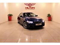 BMW 3 SERIES 3.0 325I M SPORT 2d 215 BHP + AIR CON + AUX + LEAT (blue) 2011