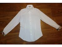 Authentic Burberry white shirt