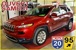 2016 Jeep Cherokee LIMITED * BANCS CHAUFFANTS * DÉMARREUR A DIST