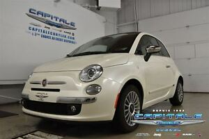 2015 Fiat 500C CABRIOLET*CUIR*MAGS*COMMUNICATION MAINS LIBRES