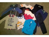 Bundle of clothes for boys (5-6 years) – 12 pieces