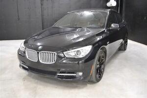 2010 BMW 550 Gran Turismo XDrive 400HP Impécable! Rare!! Black P