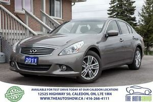 2011 Infiniti G25X Luxury | NO ACCIDENT | ONE OWNER
