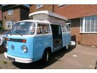 VW T2 campervan 1972