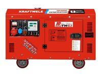 Generator Kraftwele SDG16000 ATS Silent 3Phase Diesel 16Kva