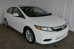 2012 Honda Civic EX WITH POWER MOONROOF