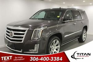 2015 Cadillac Escalade Premium|leather|7 seats|dvd|Nav|Bose|driv