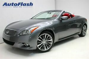 2011 Infiniti G37 Premier * Cuir Rouge!/Red Leather! * Navigatio