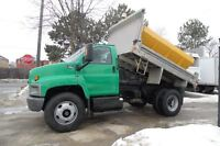2007 GMC Topkick Only 82,999km, Aluminum dump box/salter,regular