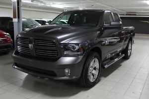 2014 Dodge Ram 1500 SPORT PLUS 4X4 *SIEGES+VOLANT CHAUFFANTS/HOO