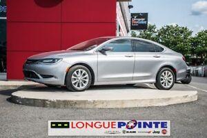 2015 Chrysler 200 C, Bluetooth, V6, CUIR CHAUFFANT,CAMERA, 8.4 L